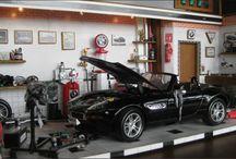 Diorama Garagem Oficina Carro