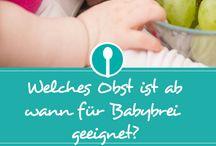 obstsorten für babys