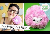 Plushies / DIY plushies - videos & cuts