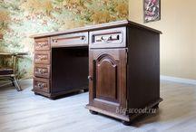 Деревянная мебель Бигвуд / Мебель из массива производства Бигвуд