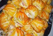 feuillete apero jambon