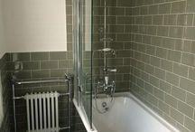 Salle de bain vintage rétro