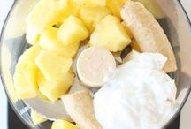 Creme glaçée au lait de coco