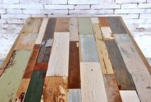 tavolo legno recupero