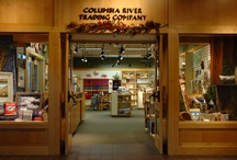 Columbia River Trading Co. / The Columbia River Trading Co. features locally crafted jewelry, artwork, textiles, wine, and food, as well as an extensive book selection offers titles by regional writers related to cultural and natural history.