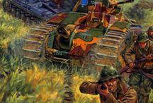 ww2 French Tanks