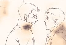 Destiel and Sam (because he's important too)
