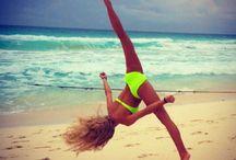 Aireals in gymnastics