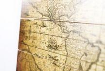 Historische wereldkaarten