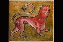 WaArtStudio Mediewal Bestiary / Kopia średniowiecznej iluminacji