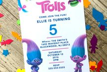 Trolls b´day party