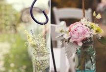 Chamonix wedding flowers