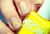 Keratin and Dead Skin Cells / Hairstyles and nail designs