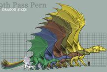 Dragon Pern / Art from Anne McCaffrey tales
