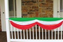 Italian food booth