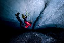 Project Iceland / Dawn Glance and Tim Emmett traveled to the fjords of northwestern Iceland to explore the potential for unclimbed ice lines. They encountered bad weather, dripping ice, and established some of the most unique ice climbs in the world. / by Mountain Hardwear
