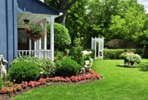 Home Improvement Outside / DIY project ideas for your home, landscaping, improving outside of your home. / by Lynn Brown Online