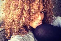 Curly Hair Don't Care / Hair board   ElanNashville.com