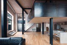 Interior con aceros