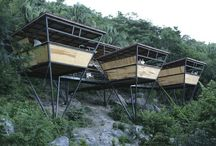Nomad Architecture / How the architect respons to the majestic nature.