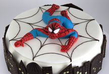spiderman torta