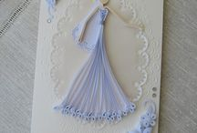 quilling sposa