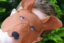 Kangaroo masks