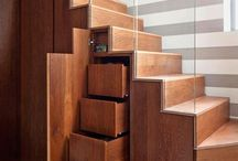 Storage Ideas / Clever storage ideas to help you get the most space from your square footage!
