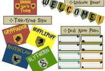 Harry Potter Classroom / Resources for a Harry Potter themed classroom.