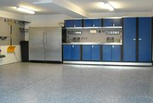 Garages and other Works Spaces / Garage and workplace design and organization ideas