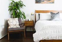 bedroom mid century