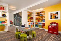 Kids Basement Spaces
