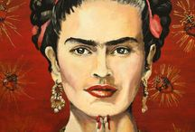 Frida Kahlo / Frida Kahlo is the epitome of feminine strength and beauty.  / by Ineke Kraan