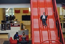 Office Inspiration / Everything fun in the office life. Gives us inspiration as we remodel.