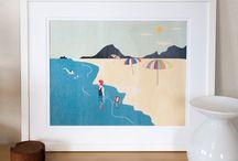 prints on timber