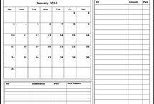 kalendáře a rady pro zahradu