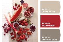 Home inspirations / Red palette