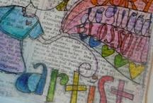 art journaling / by Julie Davis