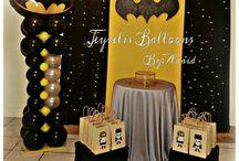 Batman balloon decor