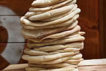 Pečivo, tortilly