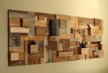 Drewniane obrazy