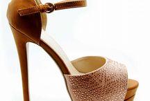 Yaz & Moda & Ayakkabi / Yazlik yuksek topuklu platform kadin ayakkabisi
