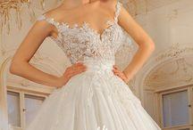 Albanian weddings, brides and their white dress / Albanian brides in white dress.