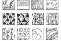 Zentangle Patterns / by Sandra