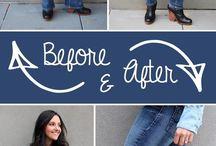 Jeans veranderen in ...