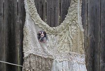 Tattered fairy tops / Magical tattered fairy and pixie tops