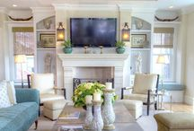 Beach house interiors / Design ideas