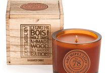 Archipelago Botanicals Wood Collection / Woody, spicy aromatic new candle fragrances by Archipelago Botanicals