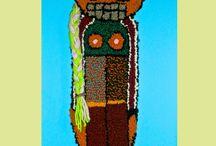 Hannah Epstein Hooking Art / Work by artist Hannah Epstein