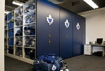 Athletic Spaces / Storage Solutions for Athletics Equipment, Uniforms, Gear and more